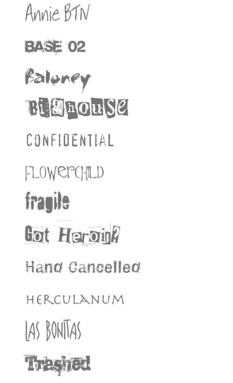 fontsamples.special