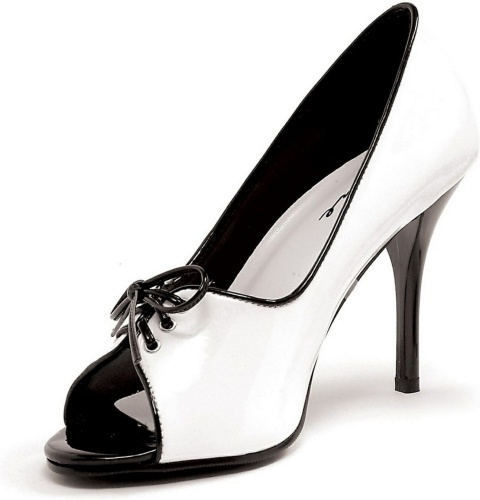 Black & White Mimi Shoe