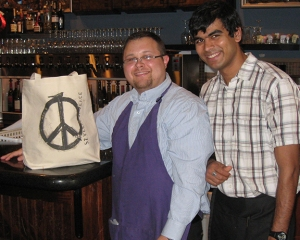 Peace at the bar!