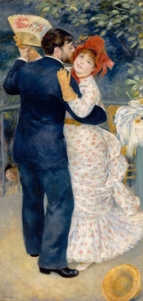 1. Dance in the Country PierreAuguste Renoir (French, 1841–1919) 1883 oil on canvas *Paris, Musée d'Orsay. *Photograph © Réunion des Musées Nationaux / Art Resource, NY. *Courtesy, Museum of Fine Arts, Boston.